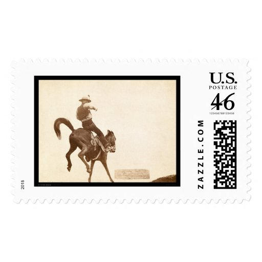 Bucking Bronco SD 1888 Stamps