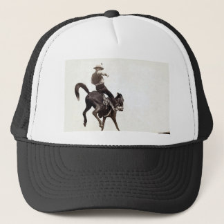 Bucking Bronco Trucker Hat
