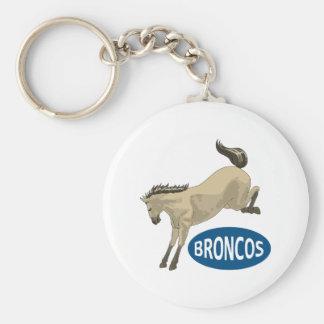 BUCKING BRONCOS KEYCHAINS