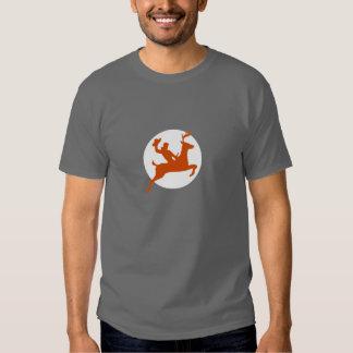 Bucking Buck Reindeer Tee Shirt