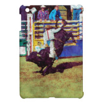 Bucking Bull and Rodeo Cowboy II Case For The iPad Mini