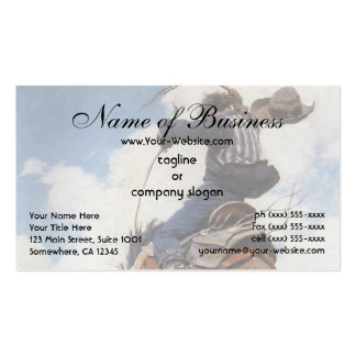 Bucking by NC Wyeth Double-Sided Standard Business Cards (Pack Of 100)