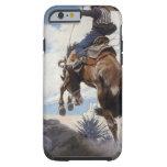 Bucking by NC Wyeth, Vintage Western Cowboys Tough iPhone 6 Case