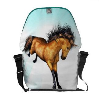 Bucking Unicorn Messenger Bag