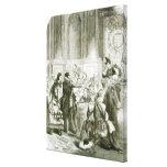 Buckingham ante el consejo lona envuelta para galerías