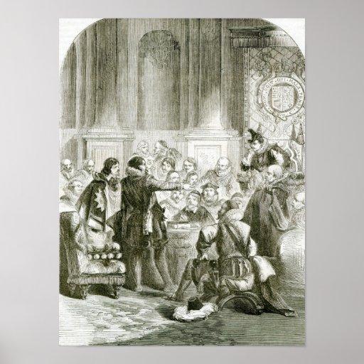 Buckingham ante el consejo póster
