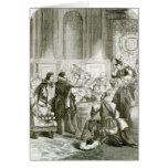 Buckingham ante el consejo tarjeta de felicitación