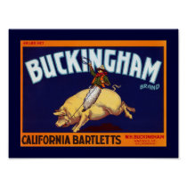 Buckingham Brand California Bartletts