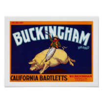 Buckingham Brand California Bartletts