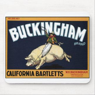 """Buckingham Brand"" Mousepad"