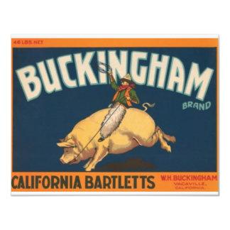 Buckingham Card