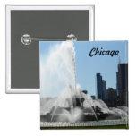 Buckingham Fountain - Chicago Button