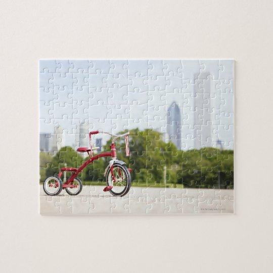 Buckingham Fountain, Chicago, Illinois, USA. Jigsaw Puzzle
