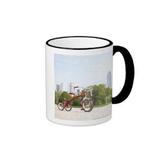 Buckingham Fountain, Chicago, Illinois, USA. Ringer Coffee Mug