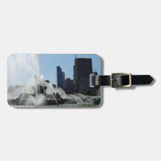 Buckingham Fountain - Chicago Luggage Tag