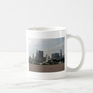 Buckingham Fountain Chicago Classic White Coffee Mug