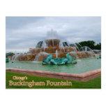 Buckingham Fountain Chicago Post Card