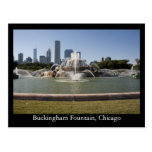 Buckingham Fountain, Chicago Post Card