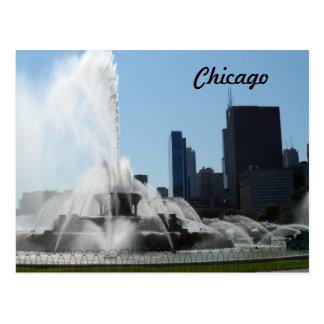 Buckingham Fountain - Chicago Postcard