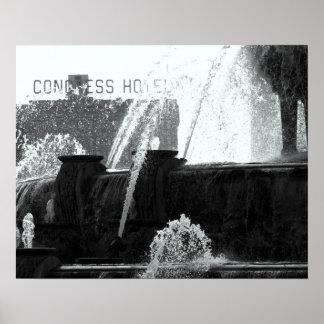 Buckingham Fountain, Chicago Poster