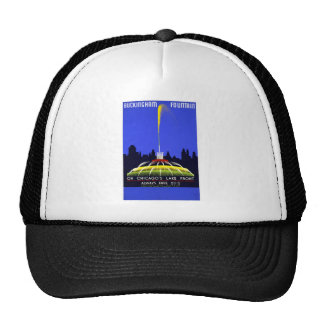 Buckingham Fountain Trucker Hat