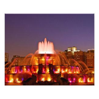Buckingham Fountain III Photo Print