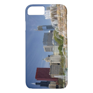 Buckingham Fountain located in Grant Park, 2 iPhone 7 Case