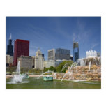Buckingham Fountain located in Grant Park, 2 Post Card