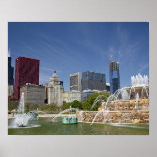 Buckingham Fountain located in Grant Park, 2 Print