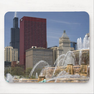 Buckingham Fountain located in Grant Park, Mouse Pad