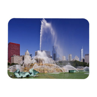Buckingham Fountain Magnet