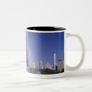 Buckingham Fountain Two-Tone Coffee Mug
