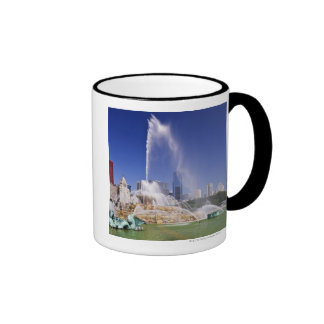 Buckingham Fountain Ringer Coffee Mug
