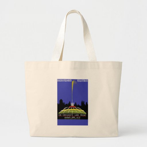 Buckingham Fountain On Chicago's Lake Front Tote Bag