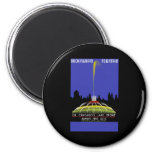 Buckingham Fountain On Chicago's Lake Front Refrigerator Magnets