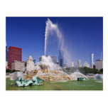 Buckingham Fountain Postcard