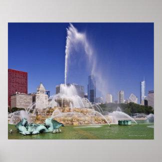 Buckingham Fountain Poster