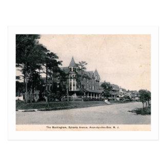 Buckingham Hotel, Avon by the Sea NJ Vintage Postcard