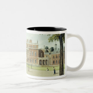 Buckingham House, from 'The History of the Royal R Two-Tone Coffee Mug