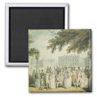Buckingham House, St.James's Park, 1790 2 Inch Square Magnet
