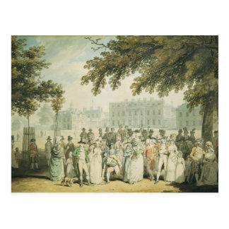 Buckingham House, St.James's Park, 1790 Postcard