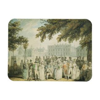 Buckingham House, St.James's Park, 1790 Rectangular Photo Magnet