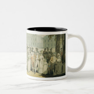 Buckingham House, St.James's Park, 1790 Two-Tone Coffee Mug