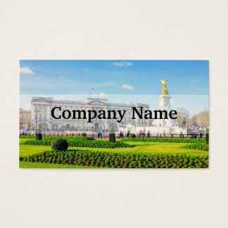 Buckingham Palace and Victoria Memorial Business Card