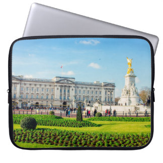 Buckingham Palace and Victoria Memorial Laptop Sleeve