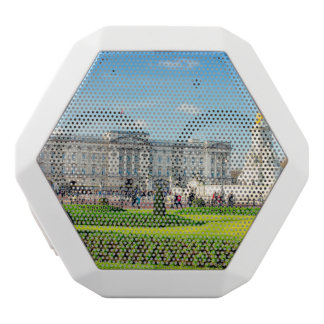 Buckingham Palace and Victoria Memorial White Bluetooth Speaker