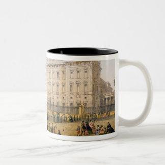 Buckingham Palace, c.1862 (colour litho) Two-Tone Coffee Mug