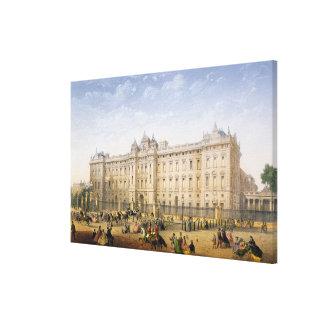 Buckingham Palace, c.1862 (litho del color) Impresiones En Lona