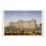 Buckingham Palace, c.1862 (litho del color) Poster