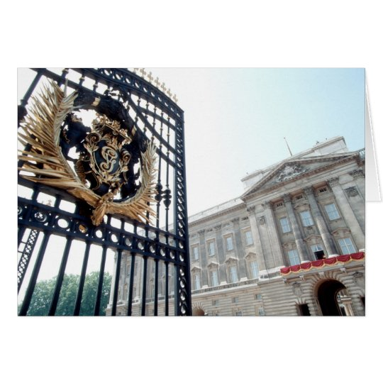 Buckingham Palace Card
